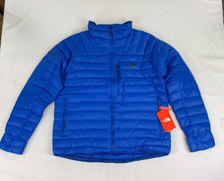 6bd211893 NORTH FACE MORPH DOWN FILL JACKET, Men's LARGE, Turkish Blue, NWT!