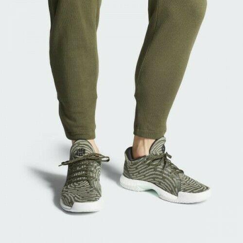 espía Alaska tierra  Adidas Harden Vol 1 LS PK 8.5 Night Cargo Green AH2113 Lifestyle PrimeKnit  Boost | Basketball Shoes