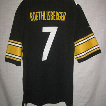 9fbb169fede Pittsburgh Steelers Ben Roethlisberger Nike Football Jersey men s XL NWOT  NEW. Related Items