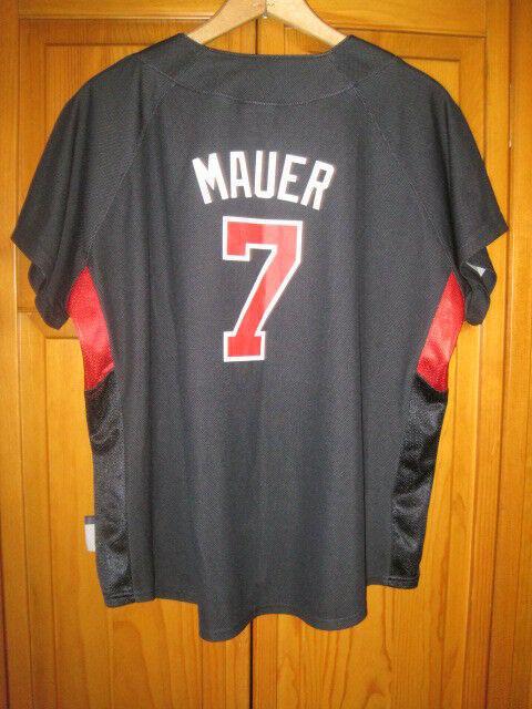 ce1a143e7b5 Majestic Minnesota Twins Joe Mauer jersey women's XL blue | 15% OFF |  Baseball Apparel & Jerseys | SidelineSwap