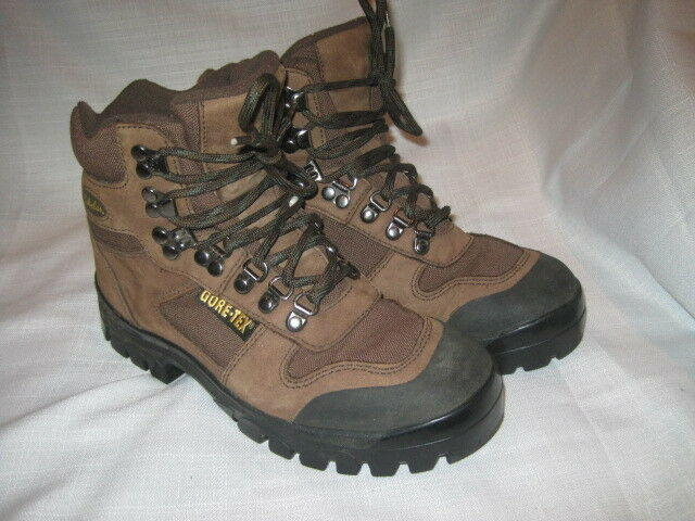 e22f93aa69b48 Cabela's Gore-Tex Leather Hiking Boots women's 7 brown outdoors fishing
