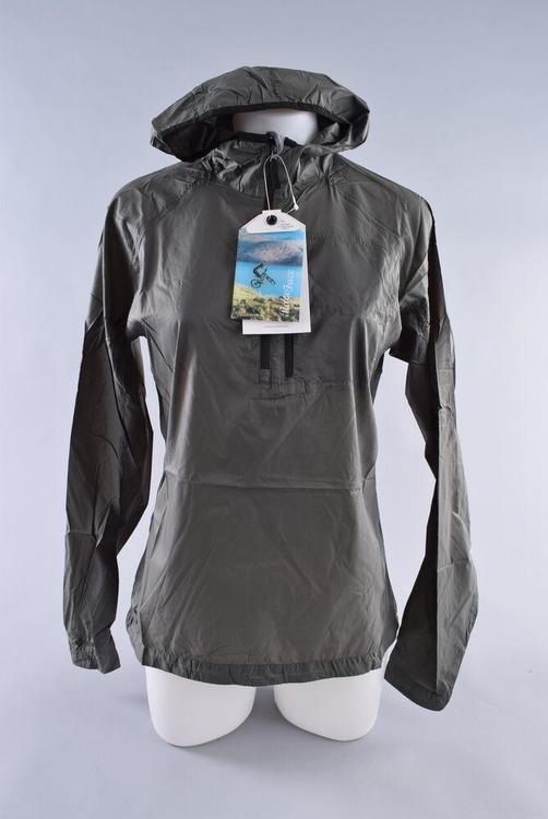 2c9525768 Race Face Nano Packable Jacket Women's Medium Grey MTB Bike Wind Water  Repellant