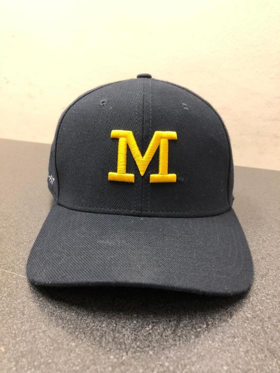 32aed9a8042 University of Michigan Nike Dri-Fit Hat (Jordan Brand)