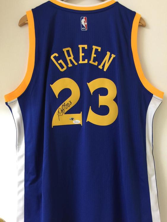 664271ab771 Warriors Draymond Green Signed Autographed Jersey JSA Witnessed  Authentication. Related Items