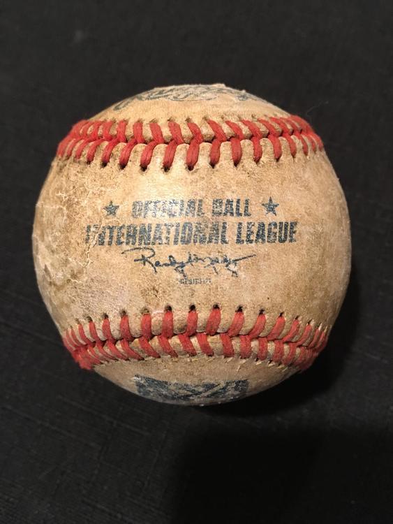 MiLB International League VERY Game Used OLD Rawlings Baseball Ball