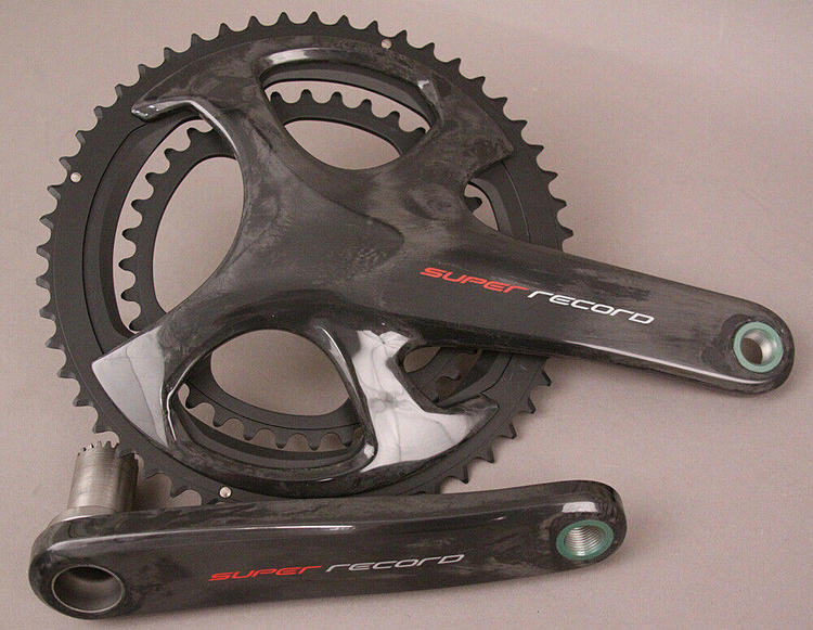 Campagnolo Record Crank 175mm 12-Speed 50//34t Carbon