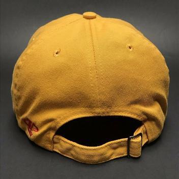 1ab33a744b58e VTG Kansas City Chiefs Strapback Hat Dad Cap Yellow NFL Football Logo  Athletic. Related Items