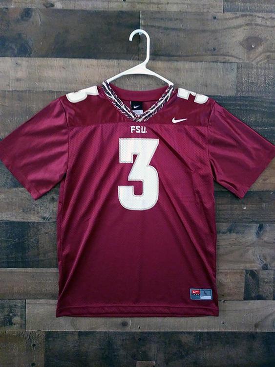 premium selection a3f44 f5828 New Nike NCAA College FSU FLORIDA STATE UNIVERSITY SEMINOLES #3 Youth  Football Jersey