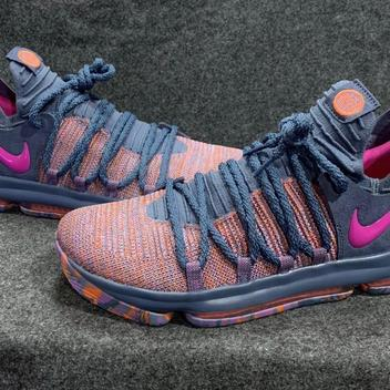 huge selection of e0fdc e0912 Nike Zoom KD10 LMTD Mens All-Star Ocean Fog Fuchsia 897817-400 Size 11
