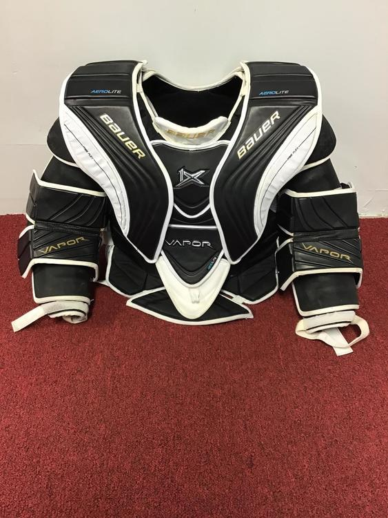 Bauer 1x Chest Protector Size Large Body Medium Arms Ncaa Return
