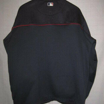 5875d037 Majestic Boston Red Sox Full Zip Sweatshirt men's L blue | Baseball ...