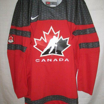 88d2707d84d0 Team Canada Olympic Nike Hockey Jersey men s XL red World Junior NWT NEW