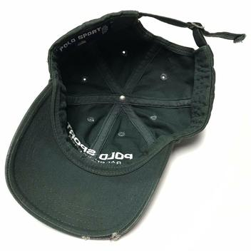 047261119b2c9 VTG Polo Sport RL Ralph Lauren Green Spell Out Strapback Hat Dad Cap.  Related Items