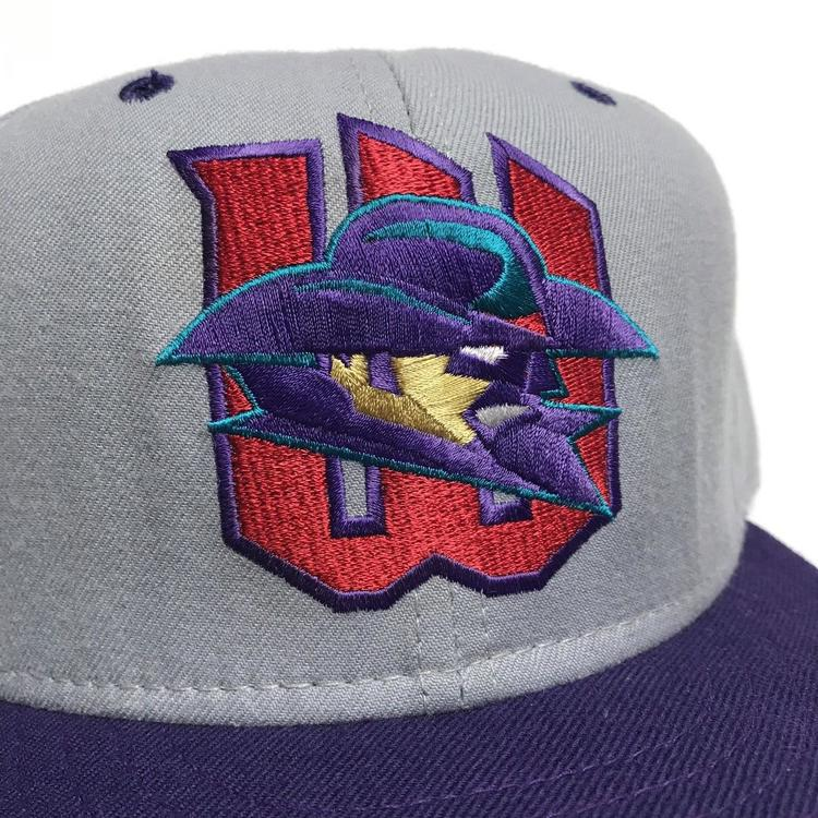 22ea59ed5 Vintage Witchita Wranglers Minor League Baseball cap adjusted New Era 7 1/8