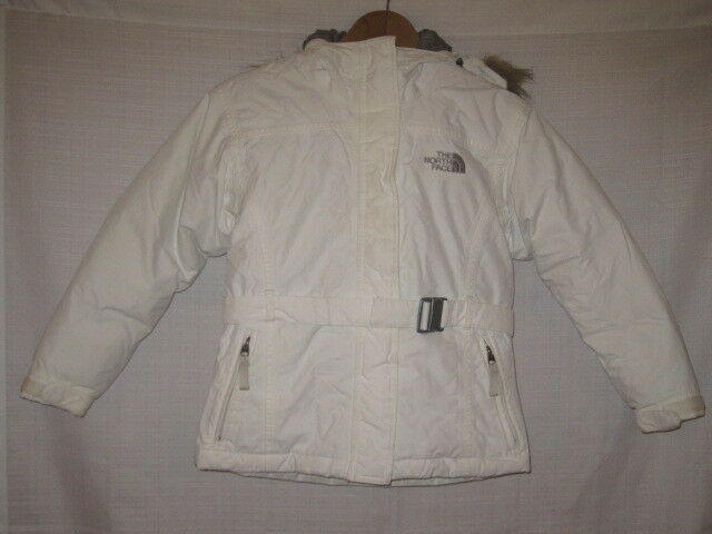 13bb3f9b8 The North Face Greenland Goose Down Parka Puffer Jacket girls S white snow