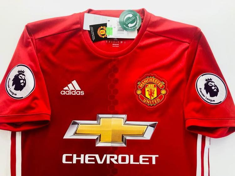 new arrival 68dad 4d8bd Adidas Manchester united # 6 pogba Home Jersey