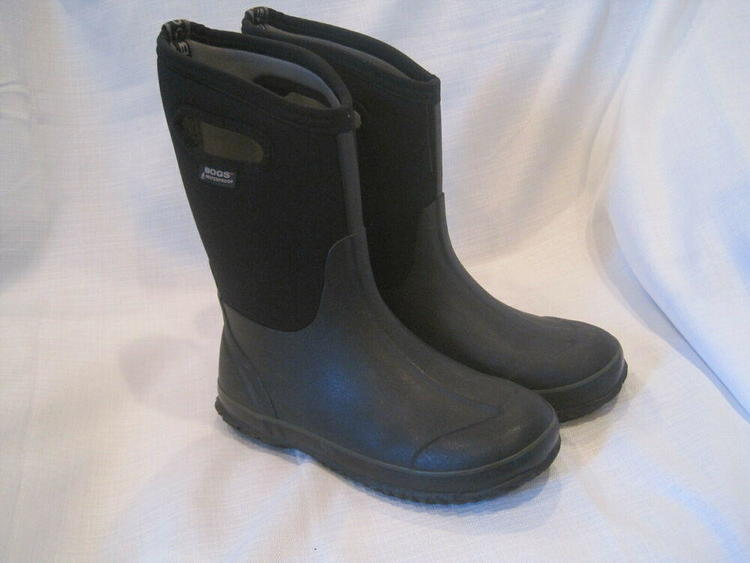 88b70c8defab Bogs Classic High Handle Waterproof Insulated Boots Youth boys 6 black  52065-001