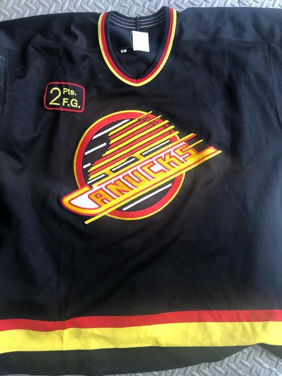207f6126921 CCM Game Worn Canucks Jersey The Flying Skate   Hockey Apparel, Jerseys &  Socks   SidelineSwap