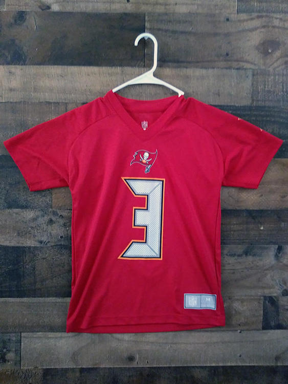 brand new e9b18 88938 New NFL Football TAMPA BAY BUCCANEERS #3 Jameis Winston Youth Player Jersey