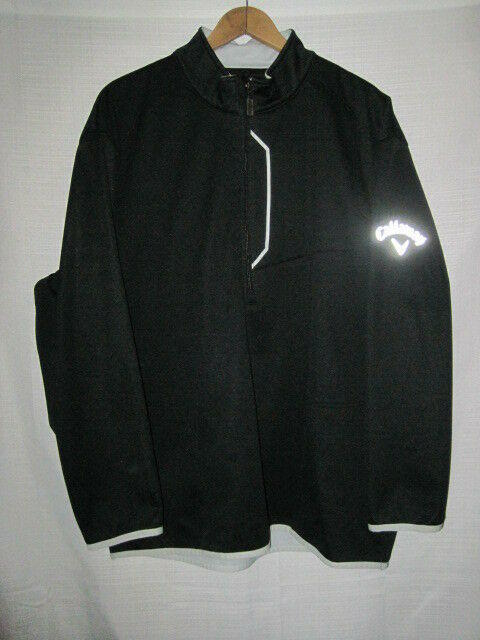 4df8a5b40 Callaway Weather Series Soft Shell Golf Jacket men's XL black lined  insulated