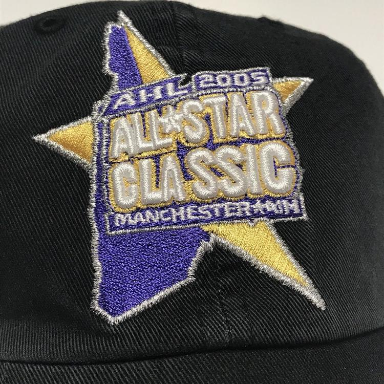 102d5889ee785 Ahl All Star Classic Manchester Monarchs nh Strapback Minor League ...