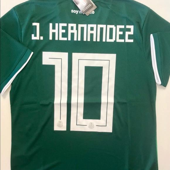 33f86cee3 Adidas New J. HERNANDEZ MEXICO HOME WORLD CUP JERSEY | Soccer ...