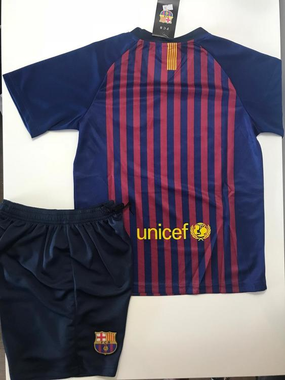 factory price 4a489 1a789 New BARCELONA HOME KIDS SIZE SOCCER JERSEY (4-13 YEARS OLD)
