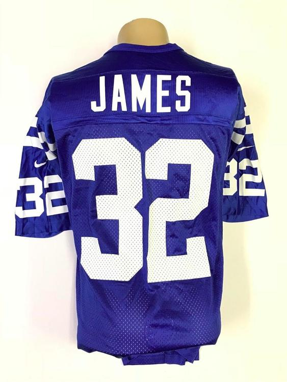 low priced a74ea 4b192 Edgerrin James Indianapolis Colts Mens XL Nike NFL Football Jersey VTG #32