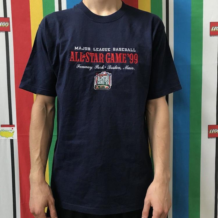 0ea783636 Vintage 1999 Stadium Park Boston Mlb Baseball Shirt Game of the Stars for  Men Middle. Related Items