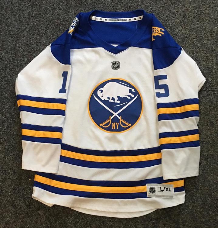 sale retailer 4e153 4b074 Buffalo Sabres Winter Classic Jersey Eichel #15