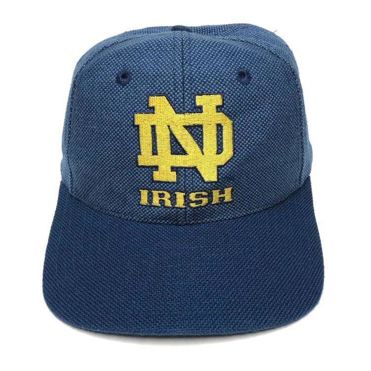 c3a83bd3e528d Vintage Notre Dame Fighting Irish Snapback Hat. Related Items