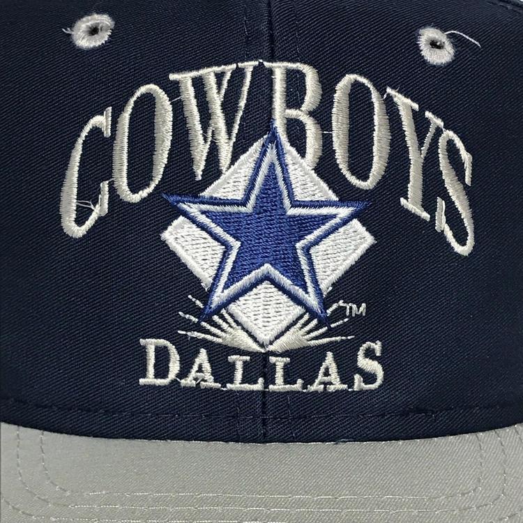11c460822 VINTAGE Dallas Cowboys Hat Snapback Cap Mens Blue Gray NFL Football AJD 90s  VTG. Related Items