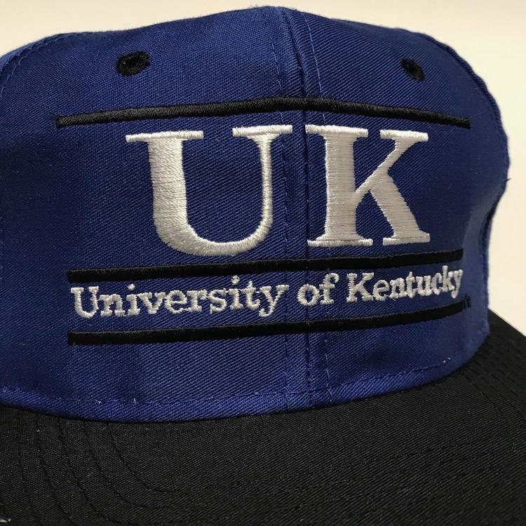 7dd754892644c Vintage Kentucky Wildcats United Kingdom Split Bar the game Ncaa Cap Hat Cap  90s. Related Items