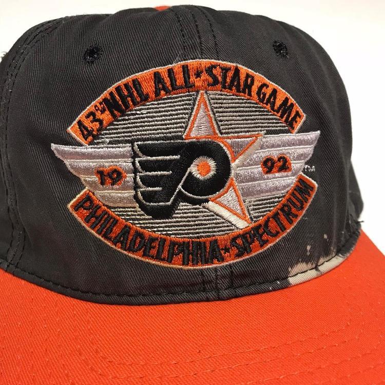 866c5690a5728b VTG 1992 Philadelphia Flyers Starter NHL Hockey Hat Snapback Cap. Related  Items