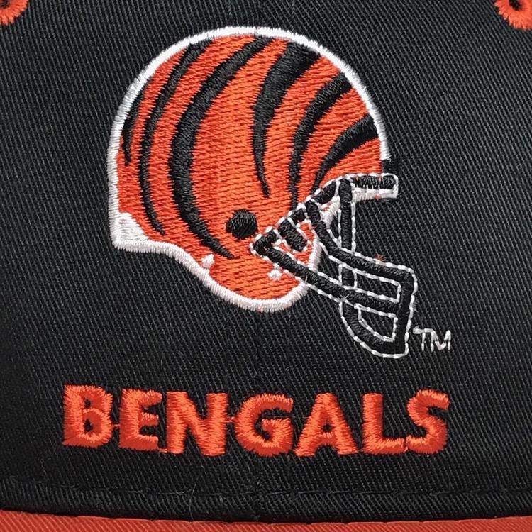 ffb8a8db VINTAGE 90s Cincinnati Bengals Snapback Hat Cap Mens NFL Football Youngan  VTG