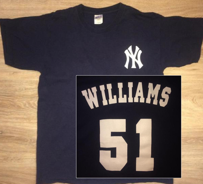 low priced 57a9f 0f879 (Large) New Yankees Legends / Bernie Williams Shirt
