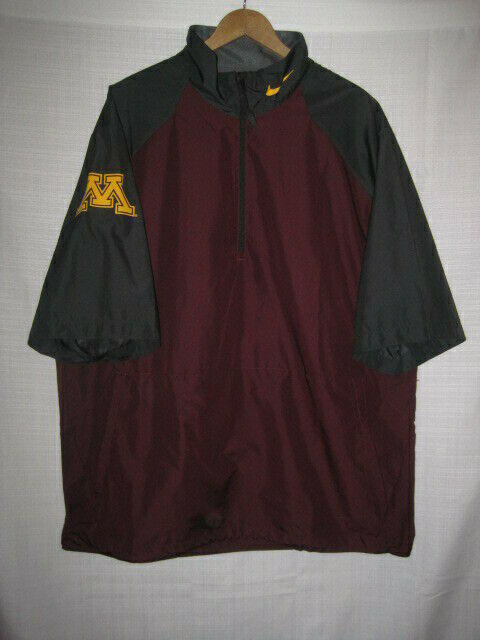 ca9cfd531681 Minnesota Golden Gophers Nike Pullover Jacket men s L maroon golf ...