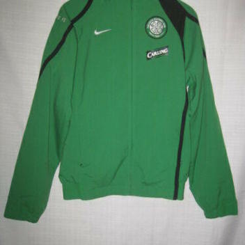 cfb521019 Celtic Football Club FC Nike Soccer Jacket men s S green Carling
