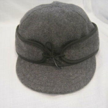 2d2c85497eb0d Original Stormy Kromer Wool Hat men s 7 1 4 gray Made in USA fishing hunting