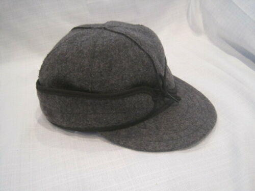 de7d3d4ffcde8 Original Stormy Kromer Wool Hat men s 7 1 4 gray Made in USA fishing hunting