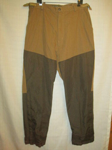 ff0299881a17a Pheasant Hunting Brush Pants men's L brown upland grouse zipper legs.  Related Items