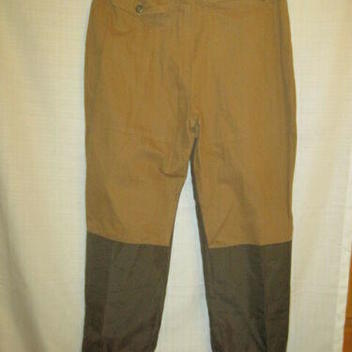 9f85c37a1a91b Pheasant Hunting Brush men's L brown upland grouse zipper legs | 15 ...