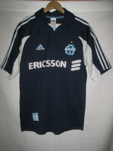 7c0a4cfe Viintage Olympique De Marseille Adidas soccer jersey men's S blue. Related  Items