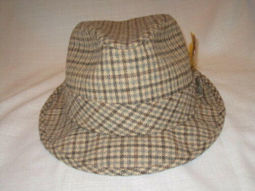 182916bab50fa1 Vintage Pendleton Pure Virgin Wool Plaid Fedora Dress Hat men's L | Apparel  Hats | SidelineSwap