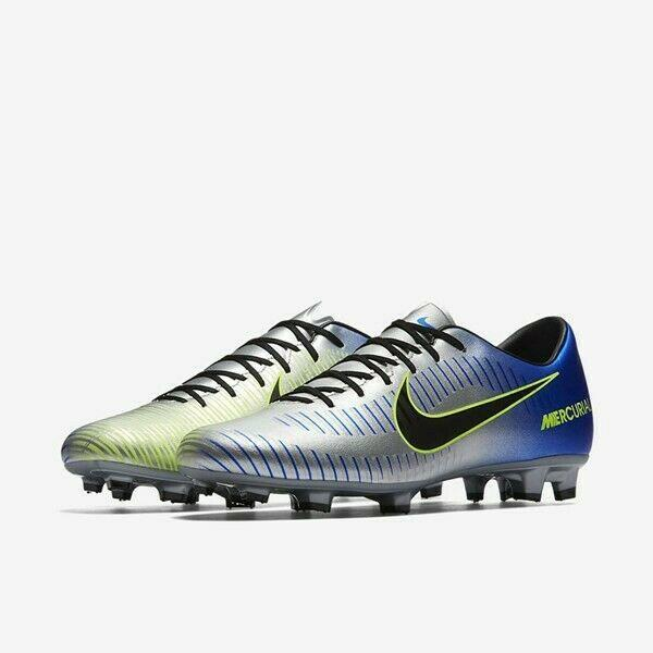 timeless design 39c38 c1507 Nike Mercurial Victory VI 6 Neymar NJR FG sz 7 Blue Silver 921509 407 Soccer