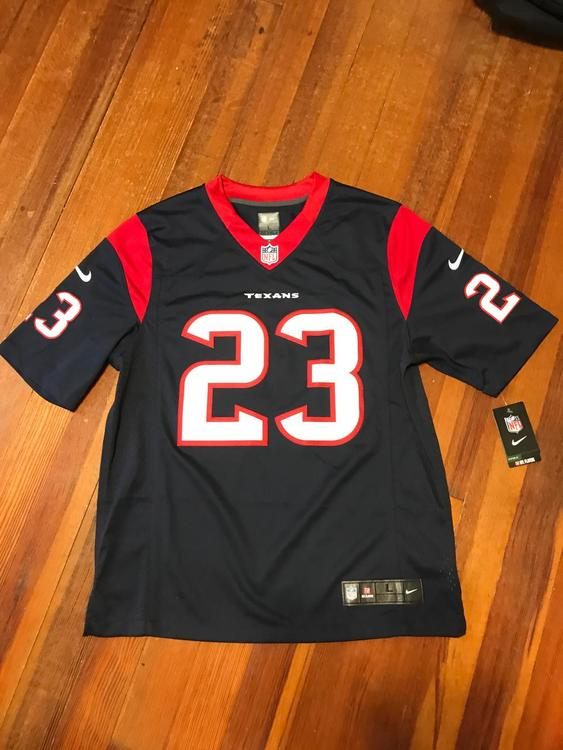 new arrival 047ec 53463 New With Tags Nike Texans Arian Foster Stitched Jersey Large