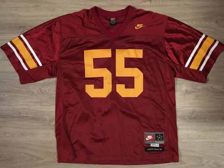 brand new 22c08 ac169 Nike (XL) New/Vintage Junior Seau / USC Trojans Jersey | Women's Lacrosse  Apparel | SidelineSwap