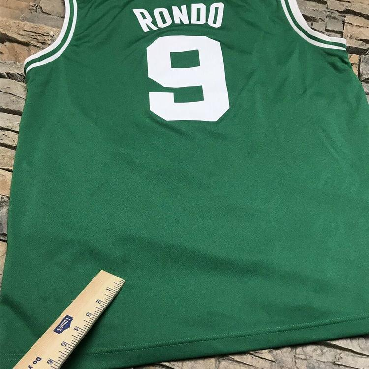 7ec6b0d5963 Adidas Rajon Rondo Boston Celtics Jersey NBA Mens Large