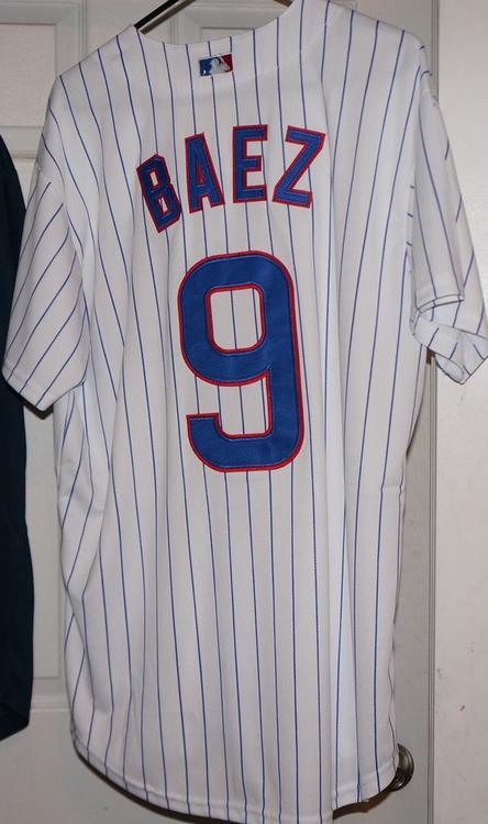 d96cb100715 Majestic Javier Baez Jersey Medium 9 | Baseball Apparel & Jerseys ...