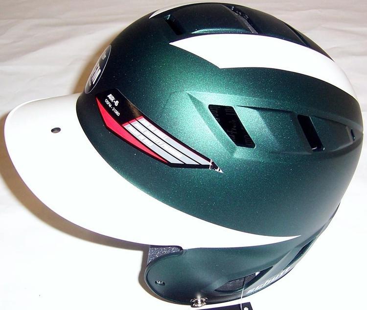0ae26f83 Schutt Air-6 BB/SB Batters Helmet OSFM F.Green/White Matte. Related Items